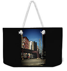 Chicago L Between The Walls Weekender Tote Bag