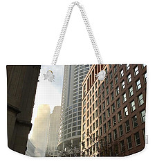 Chicago Light 2 Weekender Tote Bag