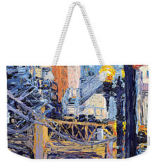 Chicago Loop Structure Weekender Tote Bag