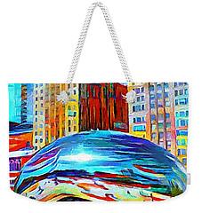 Chicago Millennium  Weekender Tote Bag