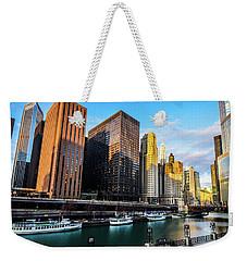 Chicago Navy Pier Weekender Tote Bag
