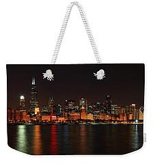Chicago Panoramic Weekender Tote Bag
