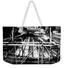 Chicago Railroad Yard Weekender Tote Bag