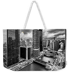Chicago River View  Weekender Tote Bag