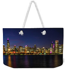 Chicago Salutes The Cubs Weekender Tote Bag