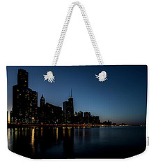Chicago Skyline From Olive Park  Weekender Tote Bag