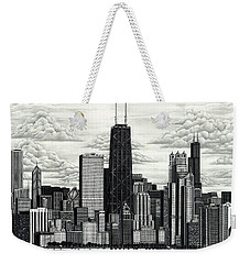 I Love Chicago Volume 1 Weekender Tote Bag