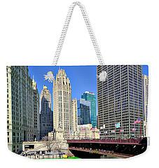 Chicago St. Patrick's Day Celebration Weekender Tote Bag
