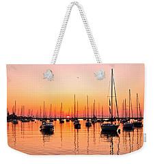 Chicago Sunrise Weekender Tote Bag