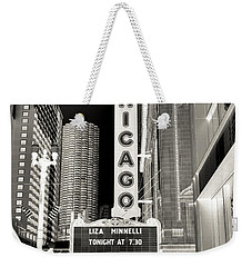 Chicago Theater - 2 Weekender Tote Bag by Ely Arsha
