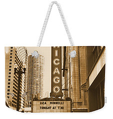 Chicago Theater - 3 Weekender Tote Bag