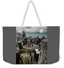Chicago View From 70th Floor Weekender Tote Bag