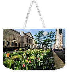 Chicago's Art Institute One Early Spring Morning Weekender Tote Bag