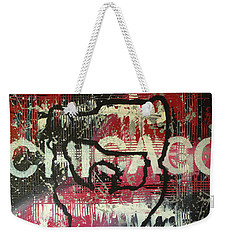 Chicago's Cup Weekender Tote Bag by Melissa Goodrich