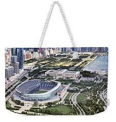 Chicago's Soldier Field Weekender Tote Bag