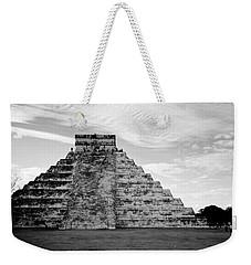 Chichen Itza B-w Weekender Tote Bag