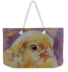 Chick Weekender Tote Bag by Michael Creese