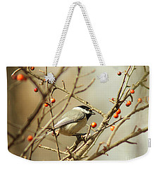 Chickadee 2 Of 2 Weekender Tote Bag