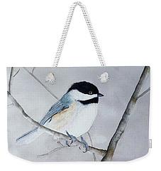 Chickadee II Weekender Tote Bag