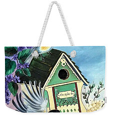 Chickadee Lane Weekender Tote Bag