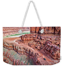 Chicken Corner Trail And Colorado River Weekender Tote Bag