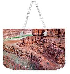 Chicken Corner Trail And Colorado River Weekender Tote Bag