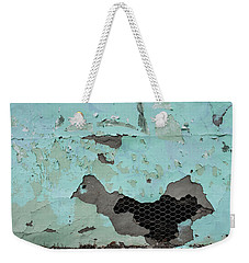 Chicken Wire Weekender Tote Bag