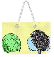 Chickens Three Weekender Tote Bag