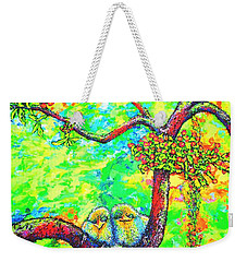 Chicks Weekender Tote Bag by Viktor Lazarev