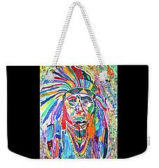 Chief Joseph Of The Nez Perce Weekender Tote Bag