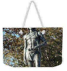 Chief Massasoit Weekender Tote Bag by Catherine Gagne