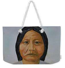 Chief Setting Bull Weekender Tote Bag