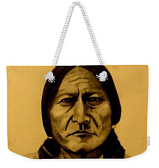 Chief Sitting Bull  Tatanka Iyotake Weekender Tote Bag