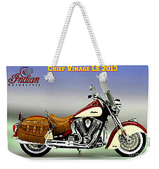 Chief Vintage Le 2013 Weekender Tote Bag