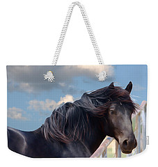 Chief - Windy Portrait Series 1 - Digitalart Weekender Tote Bag