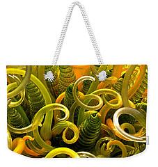 Chihuly 2 Detail Weekender Tote Bag