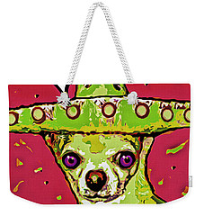 Chihuahua - I Killed A Squeaktoy In Reno Weekender Tote Bag