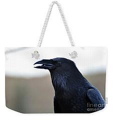 Chihuahua Raven Profile Weekender Tote Bag