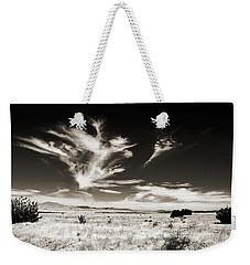 Chihuahuan Desert In Sepia Weekender Tote Bag