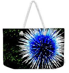 Chihuly Blue Weekender Tote Bag