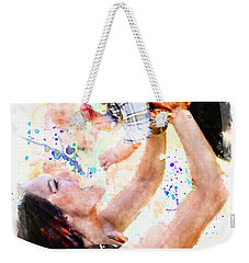 Child In Hand Weekender Tote Bag by Robert Smith