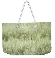 Child Of The Meadows Weekender Tote Bag