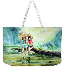 Childhood Joys Weekender Tote Bag