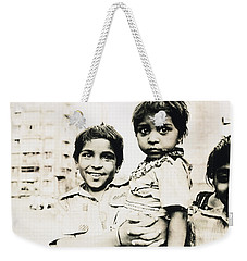 Of Hope And Fear, Children In Mexico Weekender Tote Bag