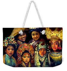 Children Of Asia Weekender Tote Bag