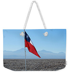 Chilean Flag Weekender Tote Bag
