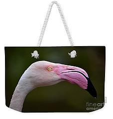 Chilean Flamingo Portrait Weekender Tote Bag
