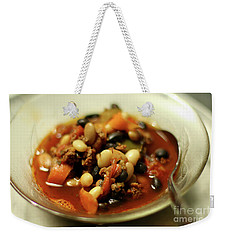 Chili Weekender Tote Bag by Joseph A Langley