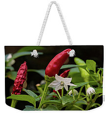 Chilli Flowers Weekender Tote Bag