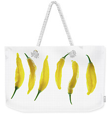 Chillies Lined Up II Weekender Tote Bag